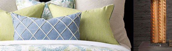 Custom Bedding and Drapery Pros Tell How to Make a Beautiful Bed in Just Minutes