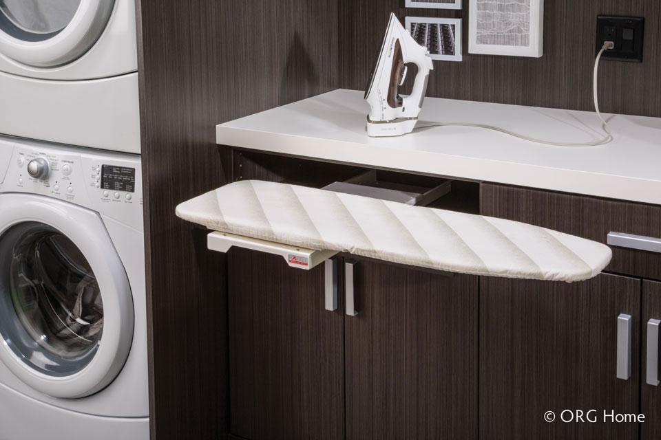 laundry room ironing station