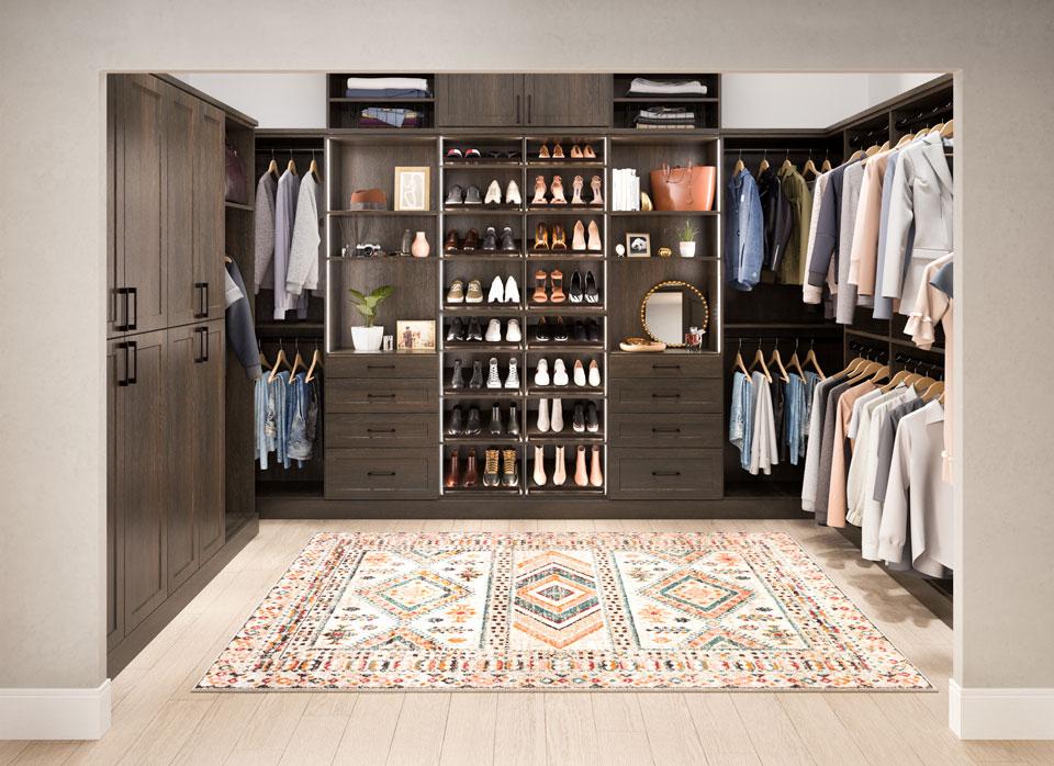 custom closets by Stricklands Home