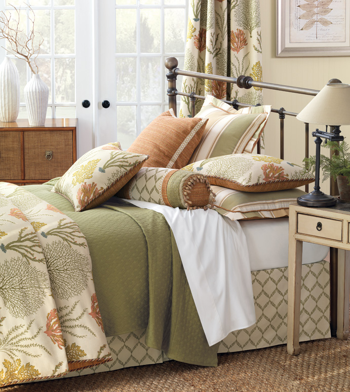 Luxury bedding fabrics at Stricklands Home Wilmington NC
