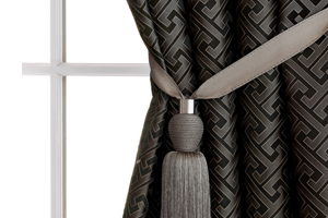 custom draperies at Stricklands Home