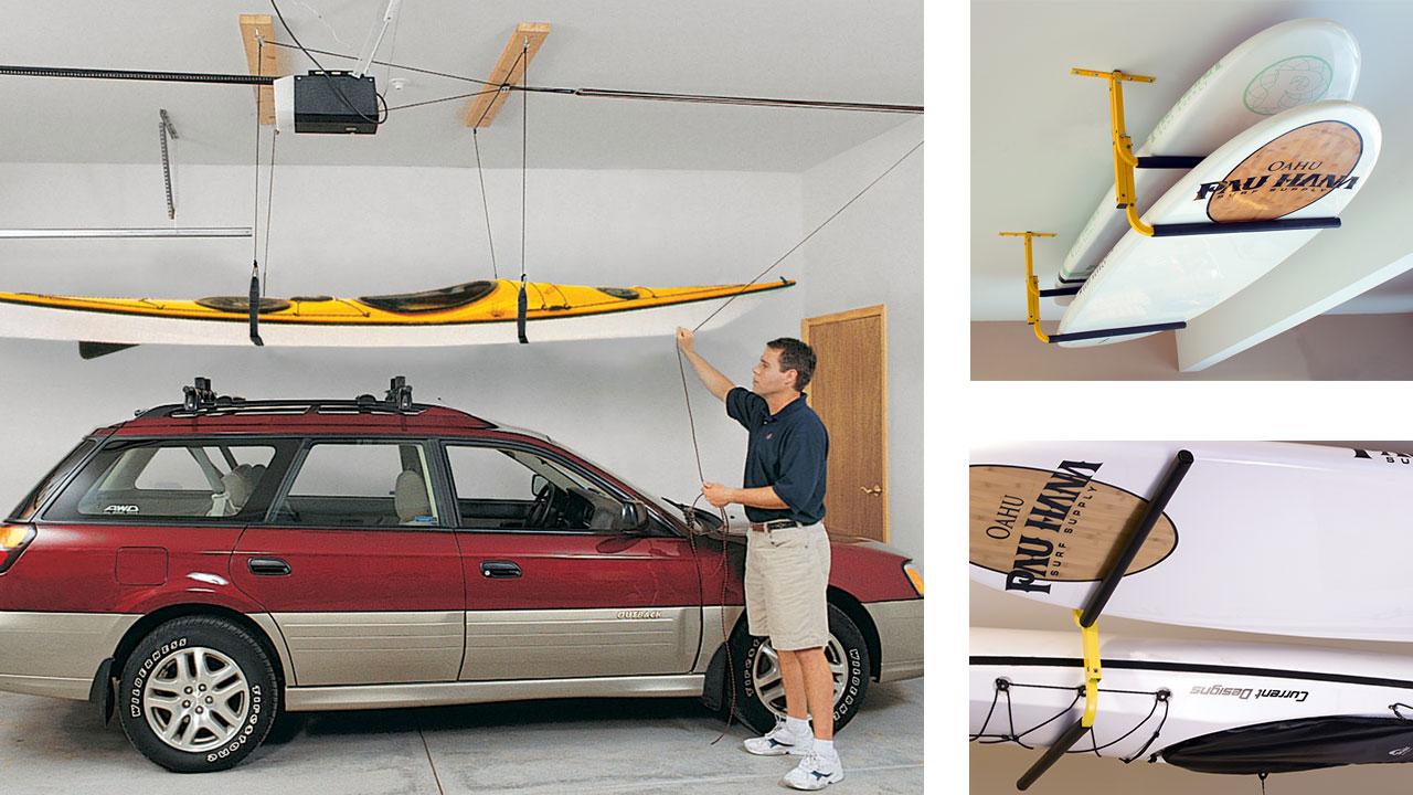 watercraft ceiling storage