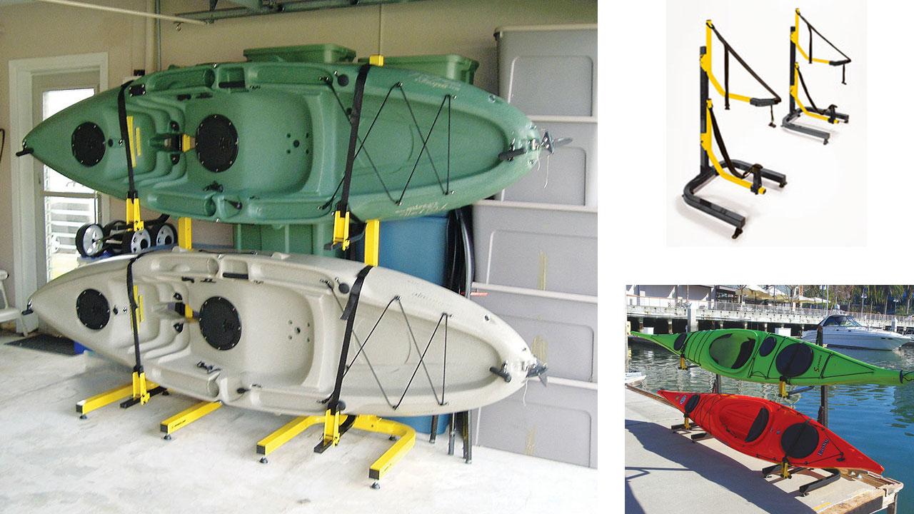 watercraft storage freestanding