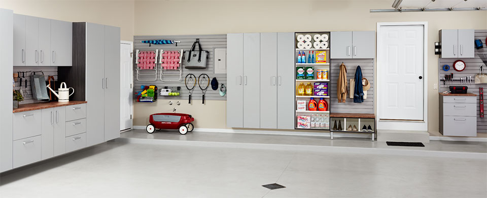 garage makeovers by Strickland's Home Wilmington NC