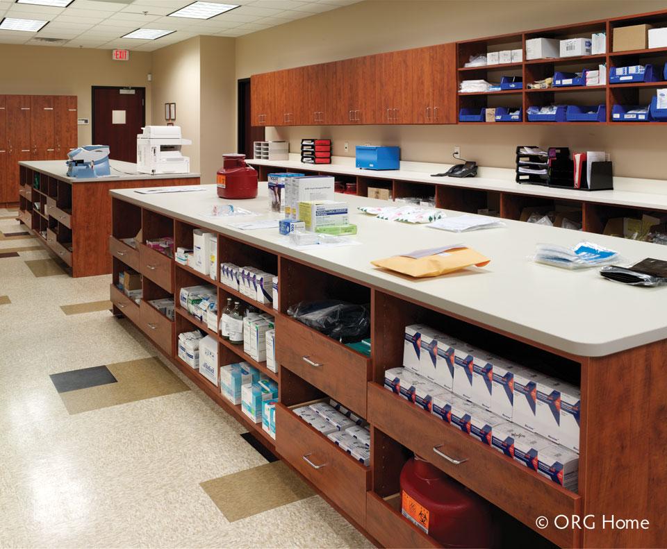 pharmaceutical office organization