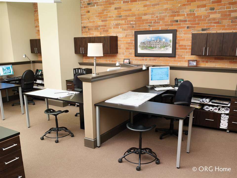 office organization with Stricklands Home