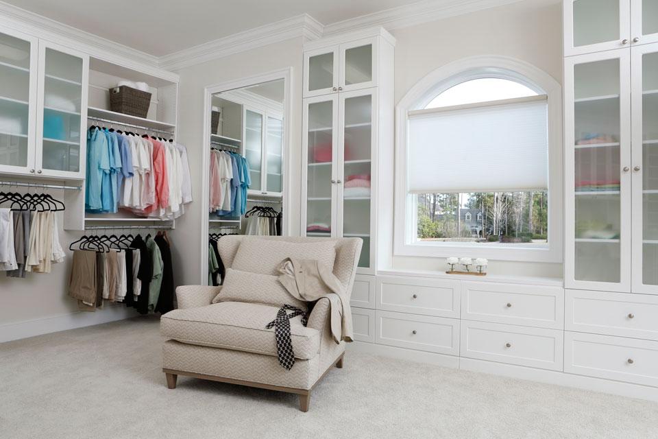 a Carolina closet by Stricklands Home