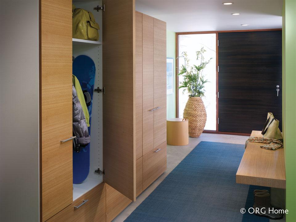 organize your entryway