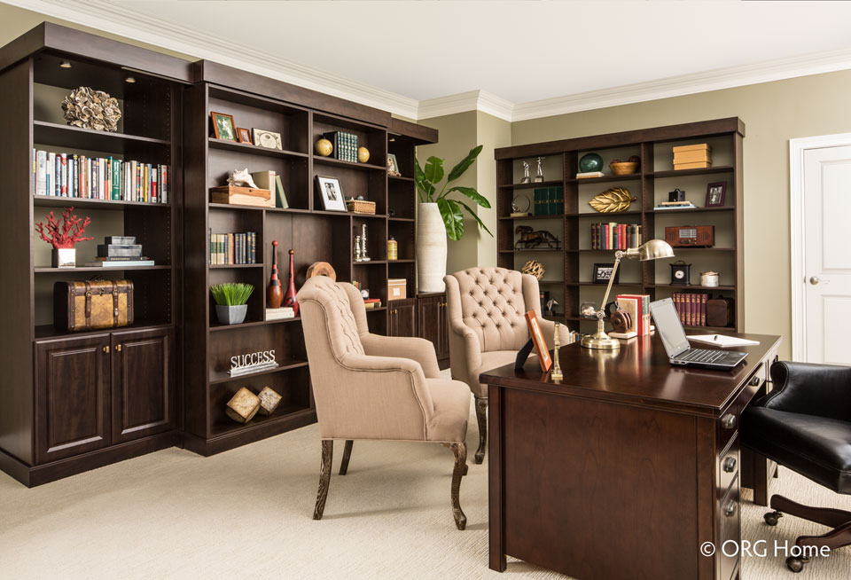 organize your executive office with a Murphy bed