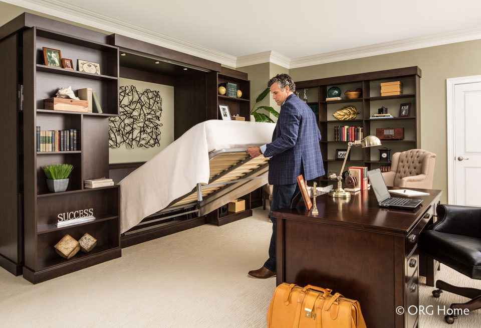 Murphy bed to organize your bedroom
