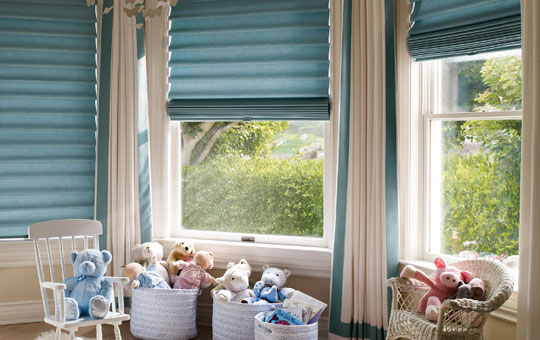 coverings for windows that are close together
